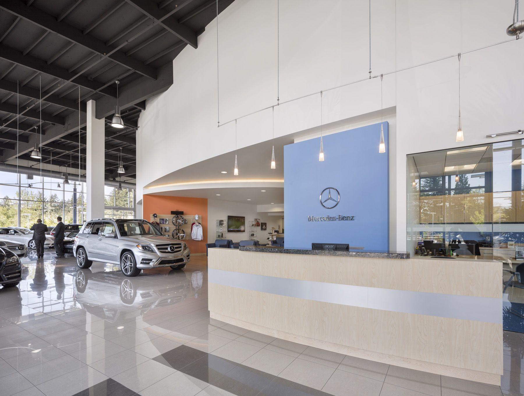 Mercedes-Benz of Beaverton | R&H Construction | Automotive