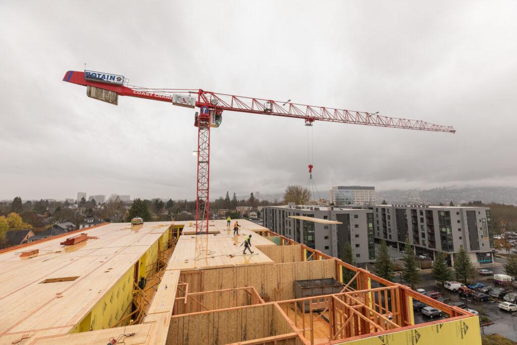 The Canyons Crane Shot RH Construction