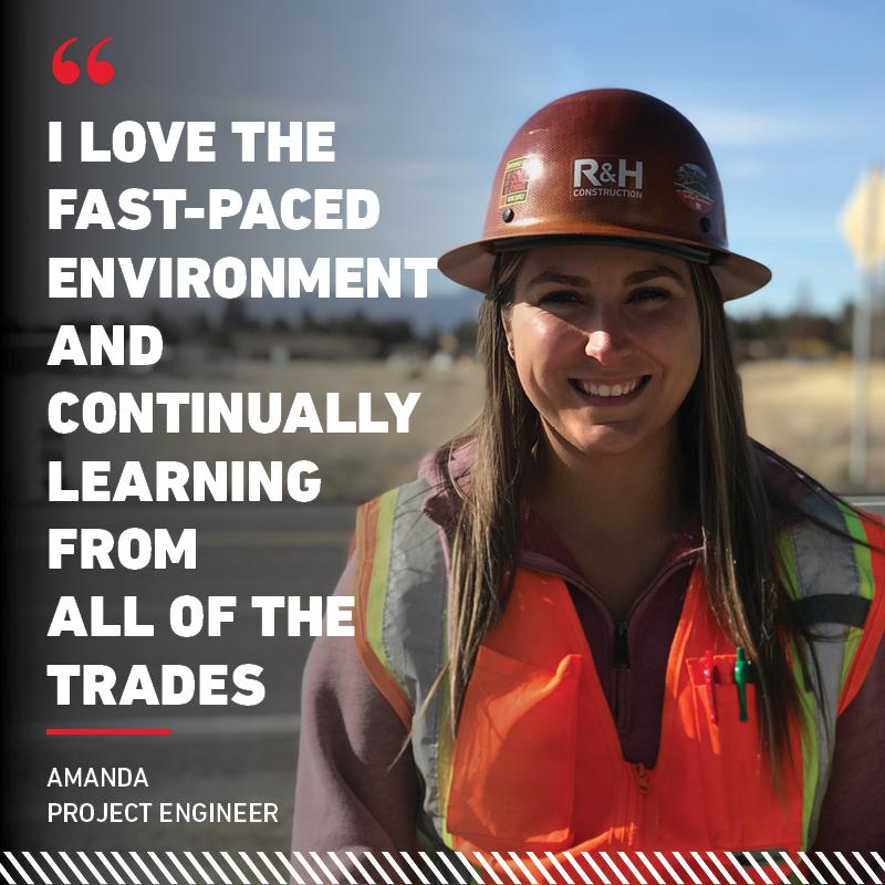 Highlighting Project Engineer Amanda